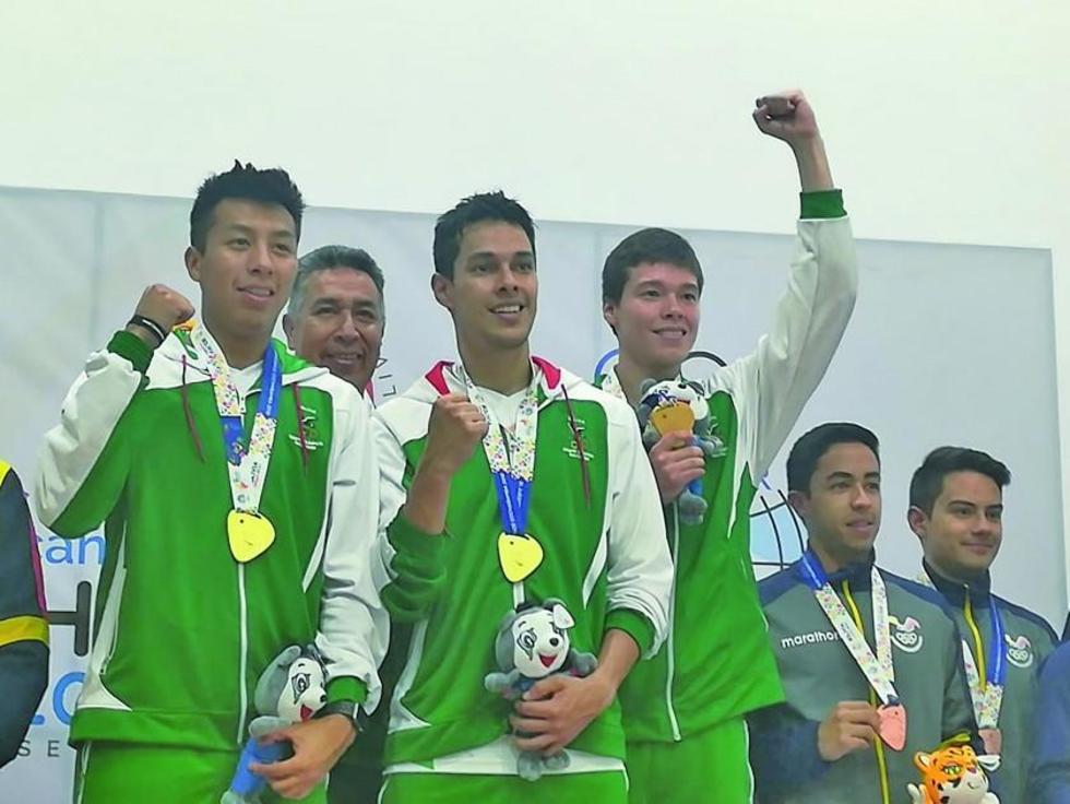 Con la presea dorada Bolivia recupera el octavo lugar de los Juegos Suramericanos.