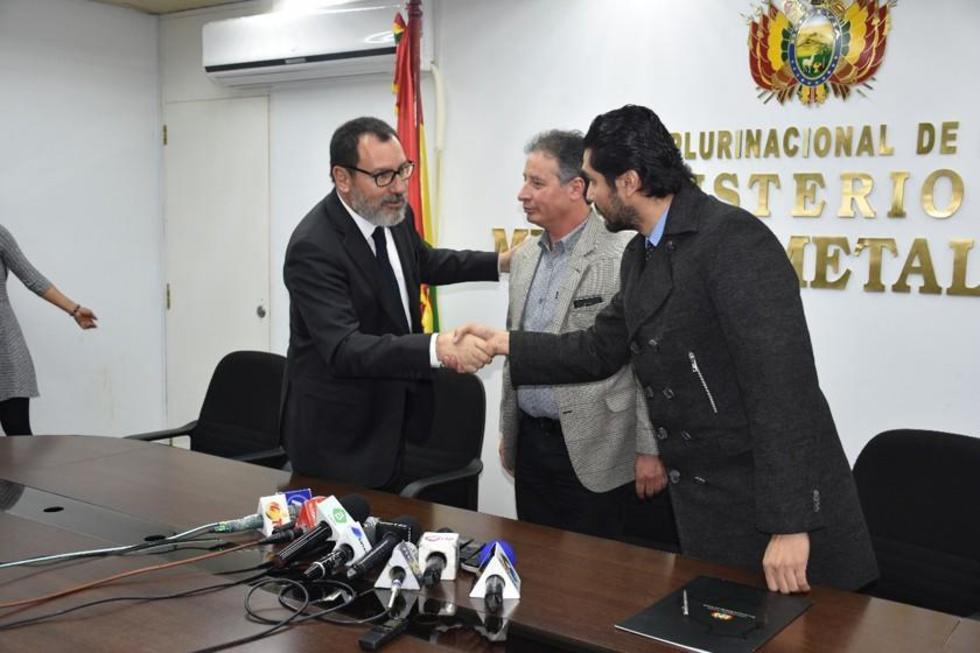 Bolivia reduce pago de indemnización a la chilena Quiborax