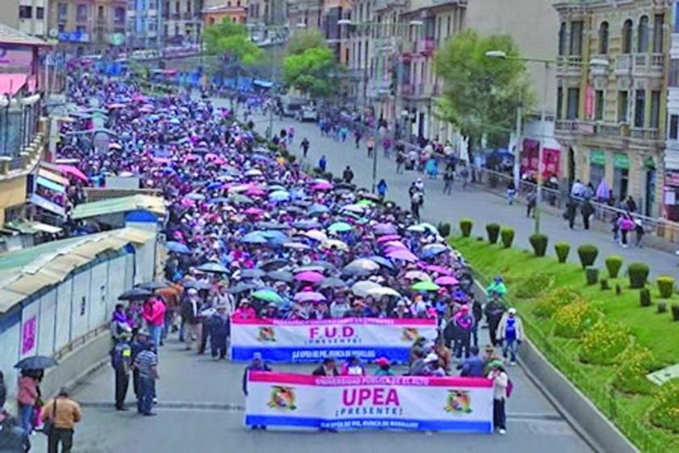 UPEA dialogará si cambian la ley 195 para acceder  a más recursos