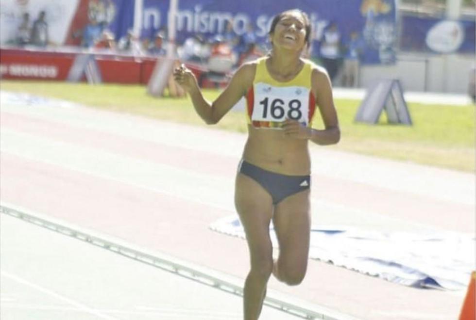 Una atleta de Potosí da medalla de plata a Bolivia
