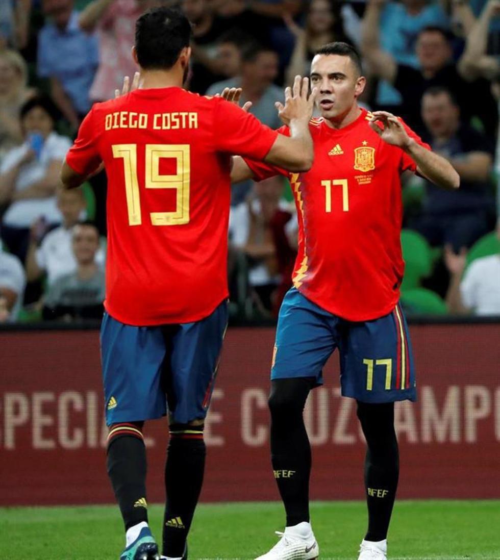 España vence por la mínima a Túnez