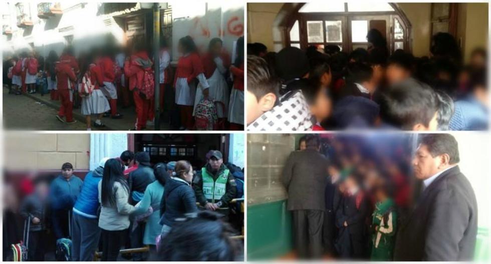 Las visitas fueron a 42 unidades educativas de la ciudad del turno de la mañana.