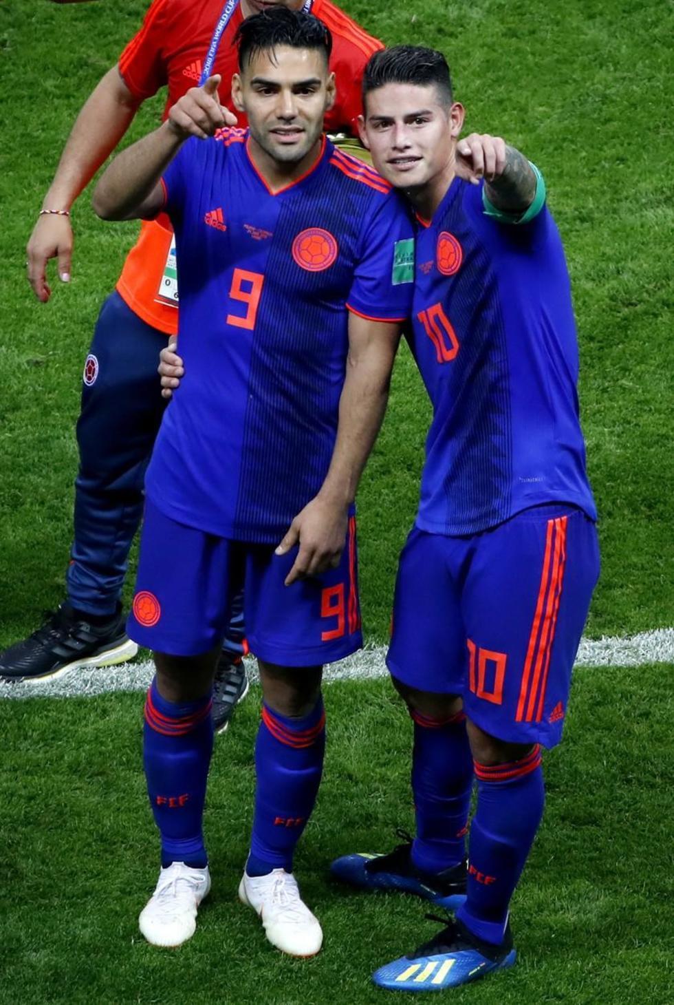 Falcao conquista  su primer gol  en un Mundial