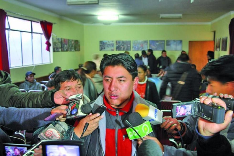 El ganador en declaraciones a la prensa tras conocer el resultado.
