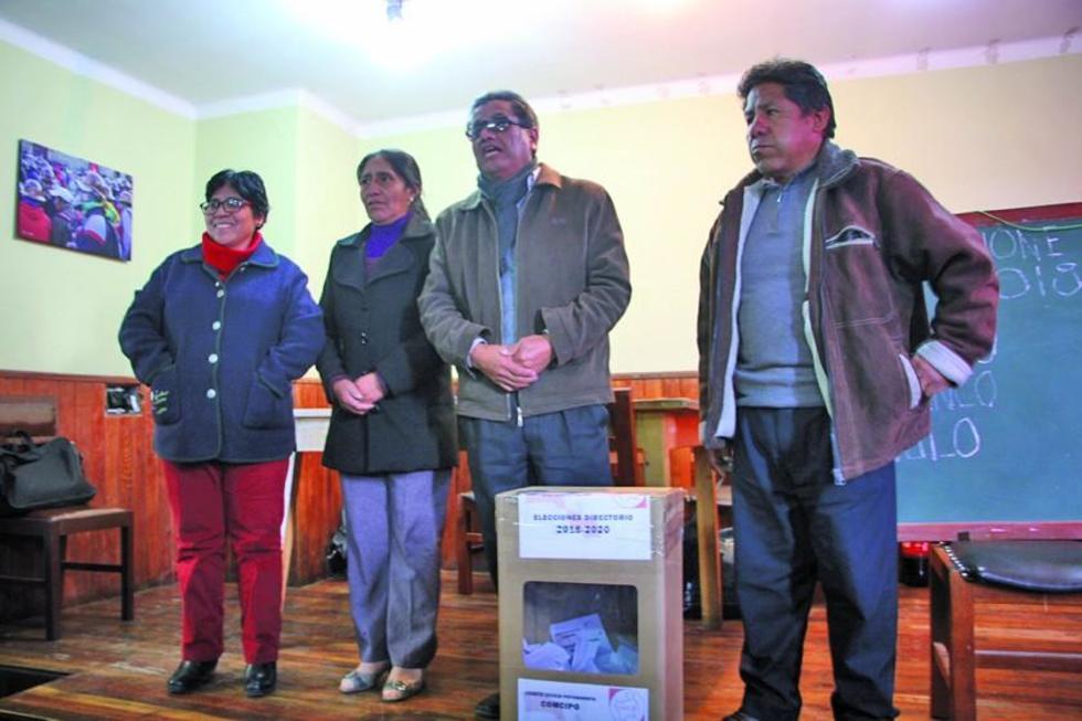 El Comité Electoral realizó el cómputo de votos y declaró ganador a Pumari.