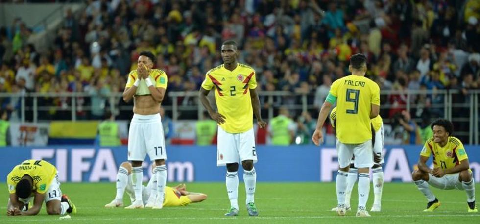 Colombia se va del Mundial con la cabeza  en alto