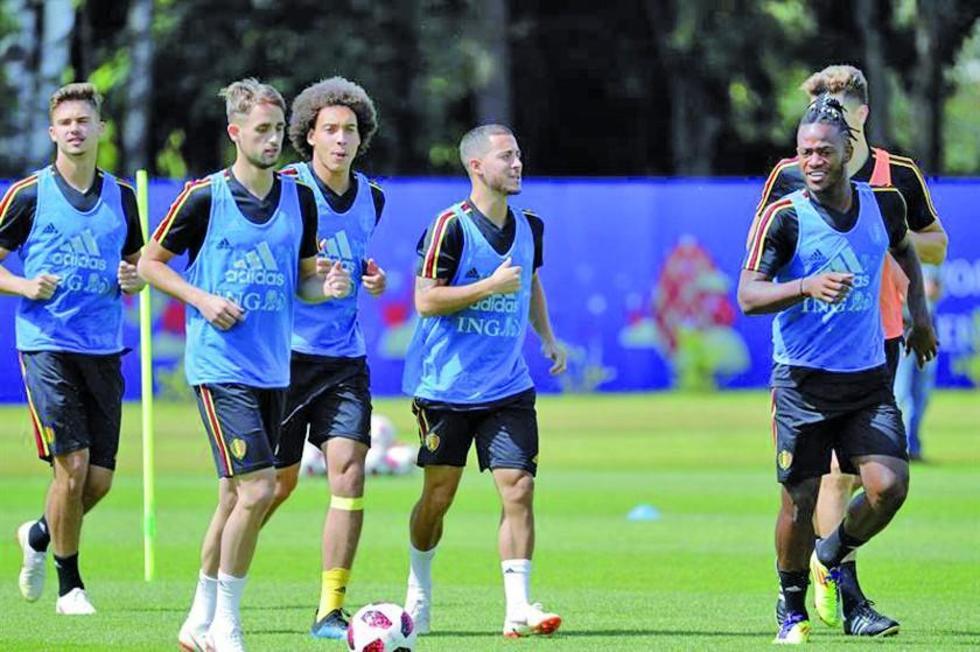 En la fase de grupos, los belgas les ganaron por la mínima diferencia a los ingleses.