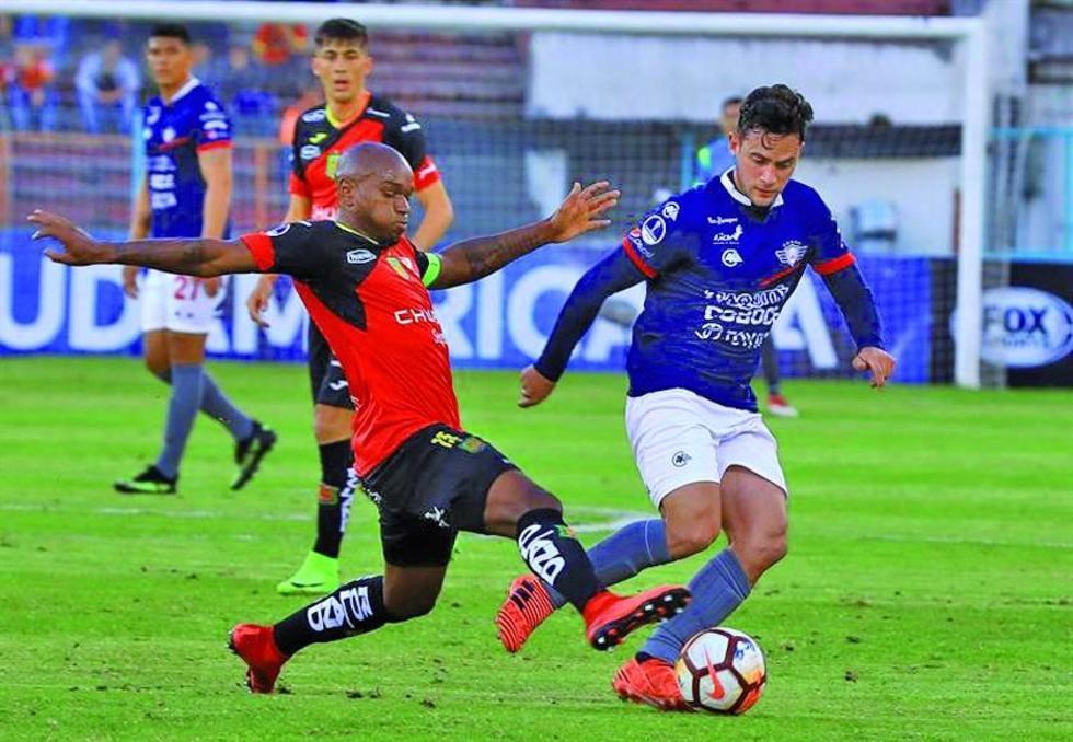 """El cotejo de jugó en el estadio """"Alejandro Serrano Aguilar""""."""