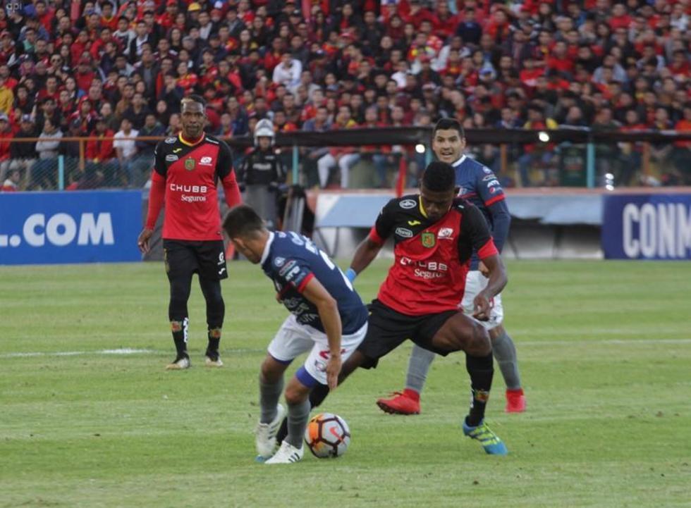Wilster se concentra en Deportivo Cuenca