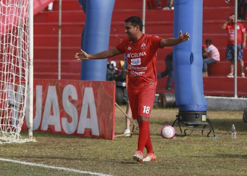 El atacante José Castillo anotó el segundo gol de Guabirá.