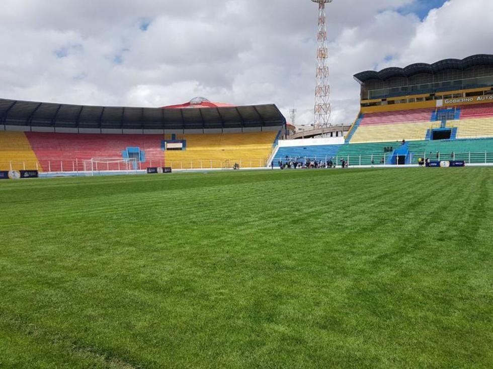 Conmebol inspeccionará seis estadios del país