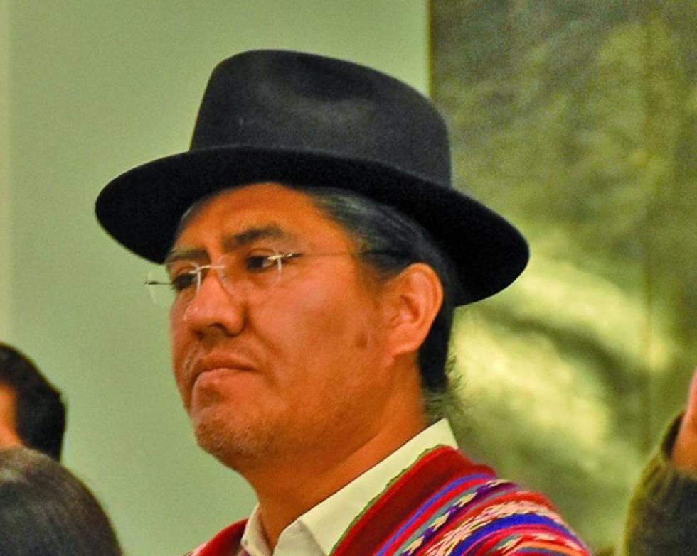 El potosino Diego Pary asumió ayer el cargo de canciller del Estado
