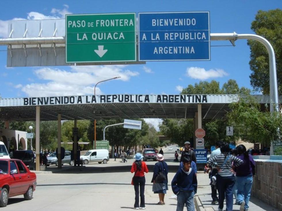 Villazón es la población de frontera con la república Argentina.