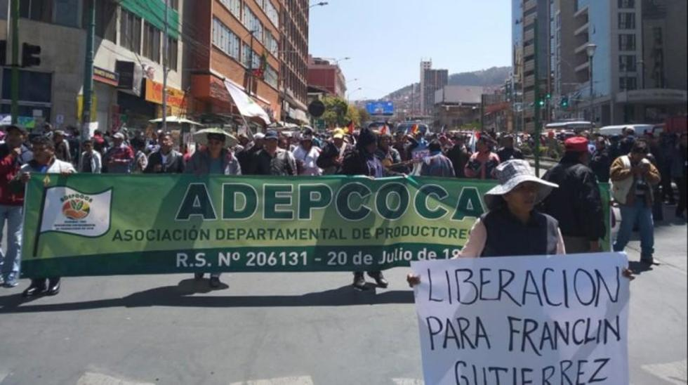 Exigen el retiro de la Fuerza de Tarea Conjunta (FTC) de La Asunta y la abrogación de la Ley de Coca.