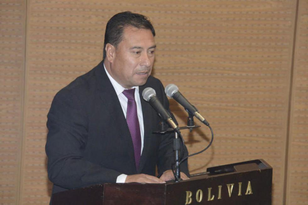 El titular del Ministerio de Salud, Rodolfo Rocabado.