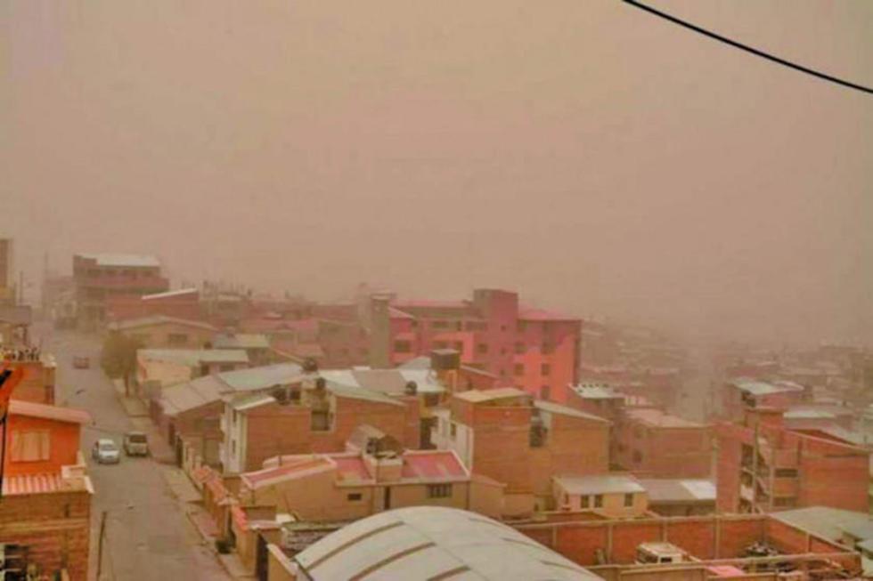 El Senamhi emite alerta naranja por vientos en Potosí