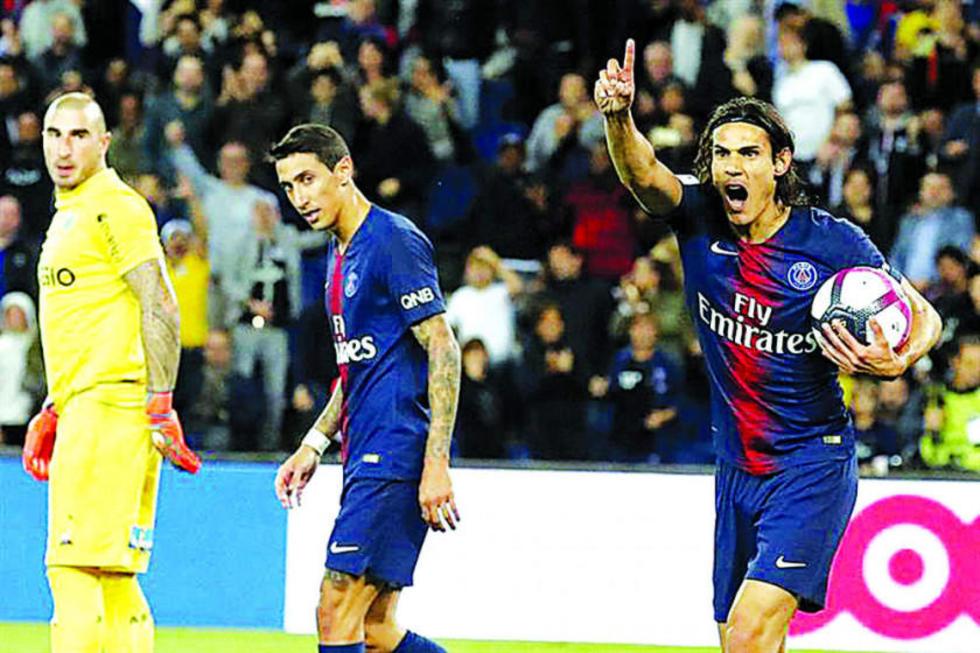 PSG golea 4-0 a Saint Etienne