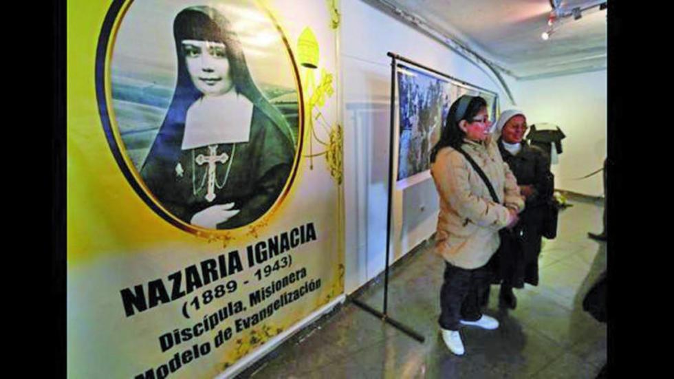 Una exposición fotográfica sobre Nazaria Ignacia.