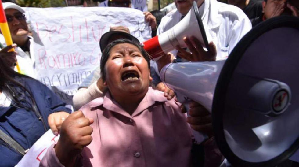 Norma Sumi, afirmó que su hijo, Jhiery Fernández, es inocente.