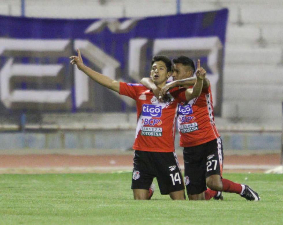 Nacional Potosí sorprende a San  José y se queda con los puntos