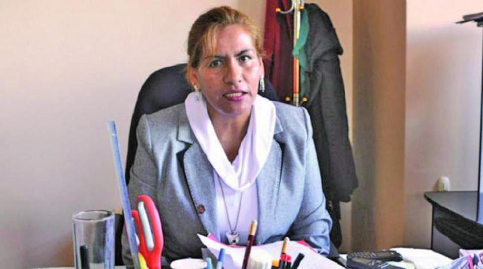 La jueza Patricia Pacajes.