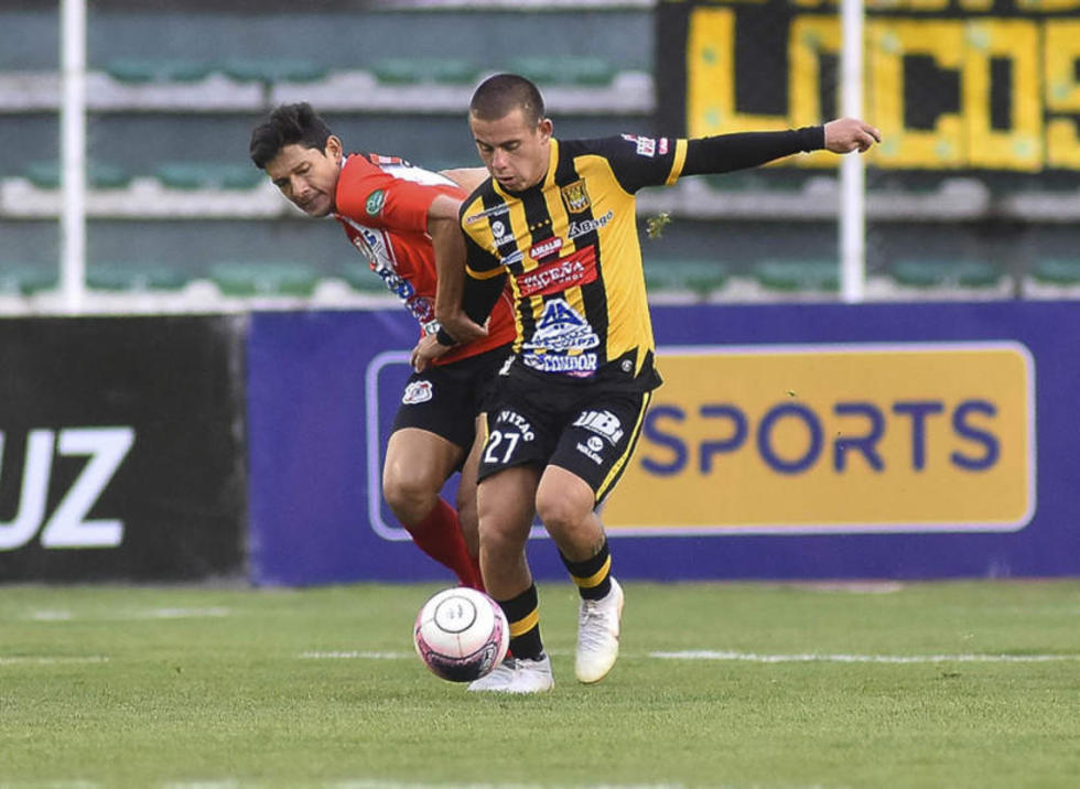 Nacional Potosí cede los puntos al Tigre en un partido en La Paz