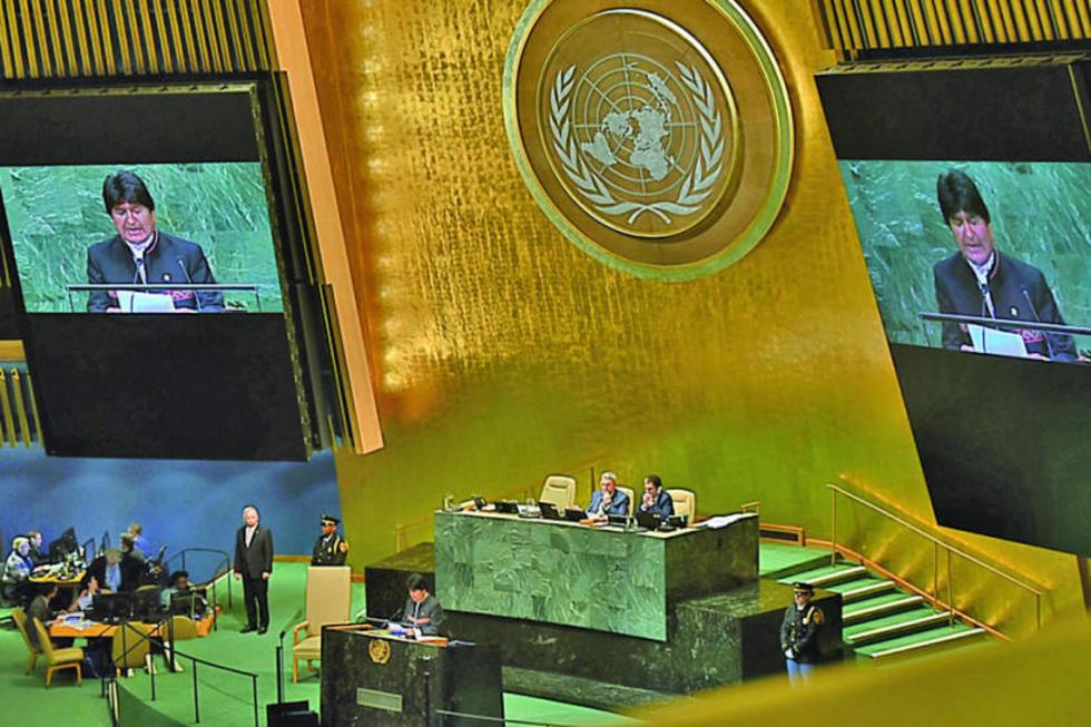 Afirmó que Bolivia de buena fe, tiene el mejor propósito de lograr con Chile una solución duradera, sostenible y mutuame