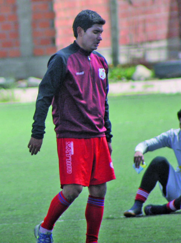 Los jugadores Aldo Velasco y Juan Carlos Galvis.