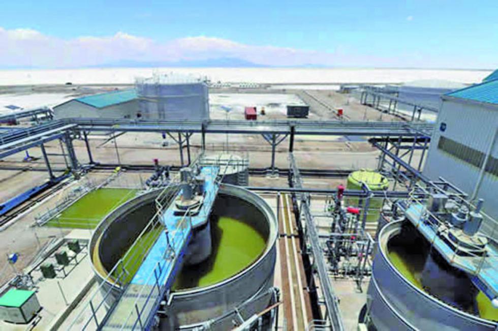Confirman que la planta de cloruro de potasio se inaugura en 5 días