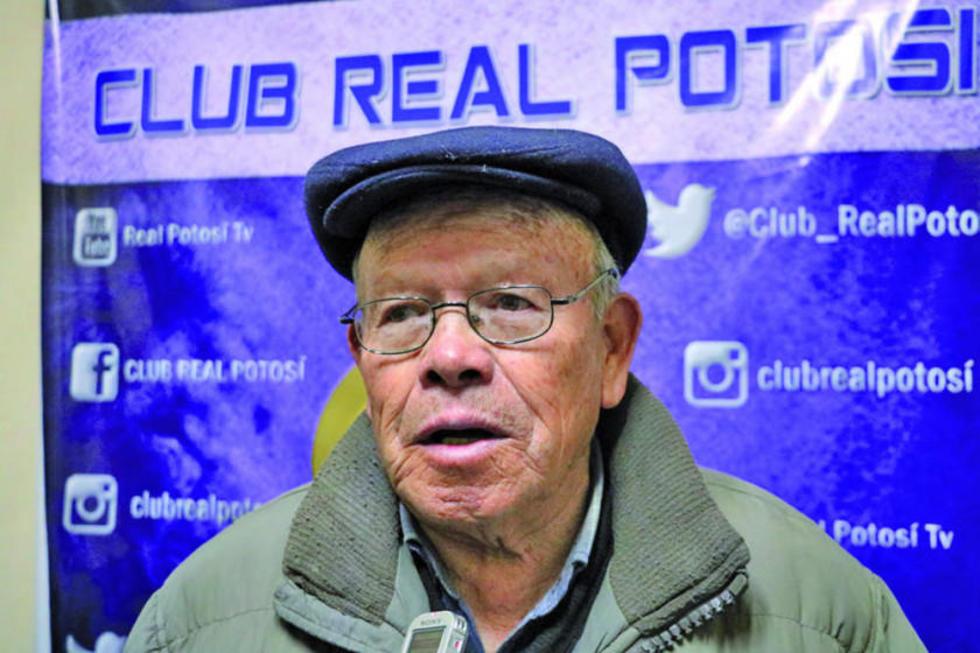 El expresidente del club, Juan De Uzin.