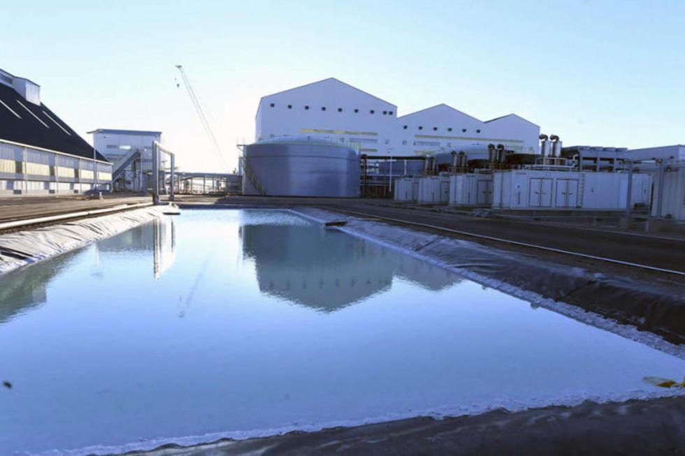 La industrialización del salar inicia con la planta de cloruro de potasio