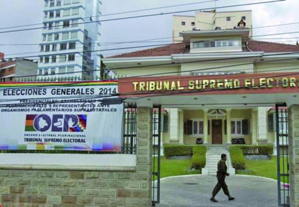 El tribunal manifestó que asumirá una posición sobre la candidatura de Moralescuando tenga competencia.