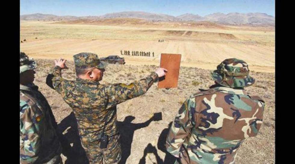Los militares destruyen con dinamita vías del contrabando