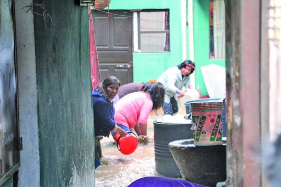 Potosí se halla entre las zonas afectadas por inundaciones