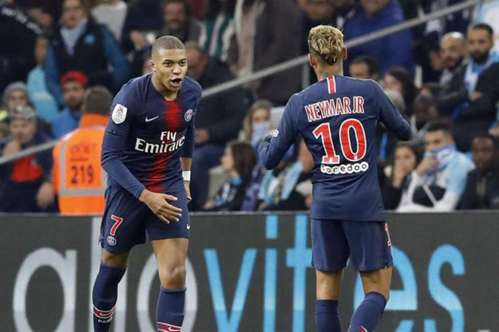 Mbappe le da la victoria a París Saint Germain sobre Olympique Marsella