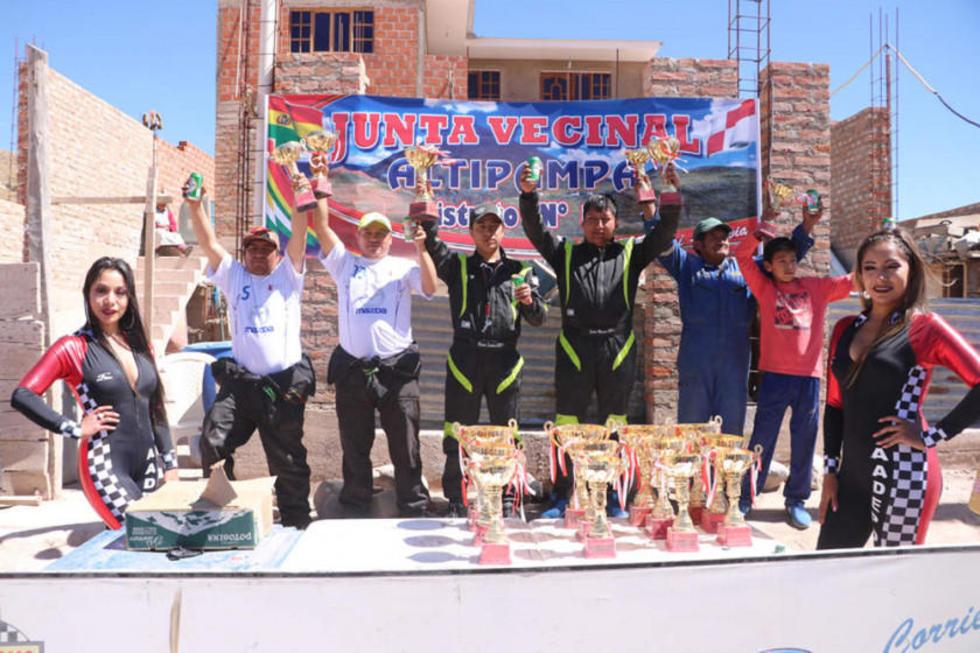 Los vencedores de la categoría Promocional.