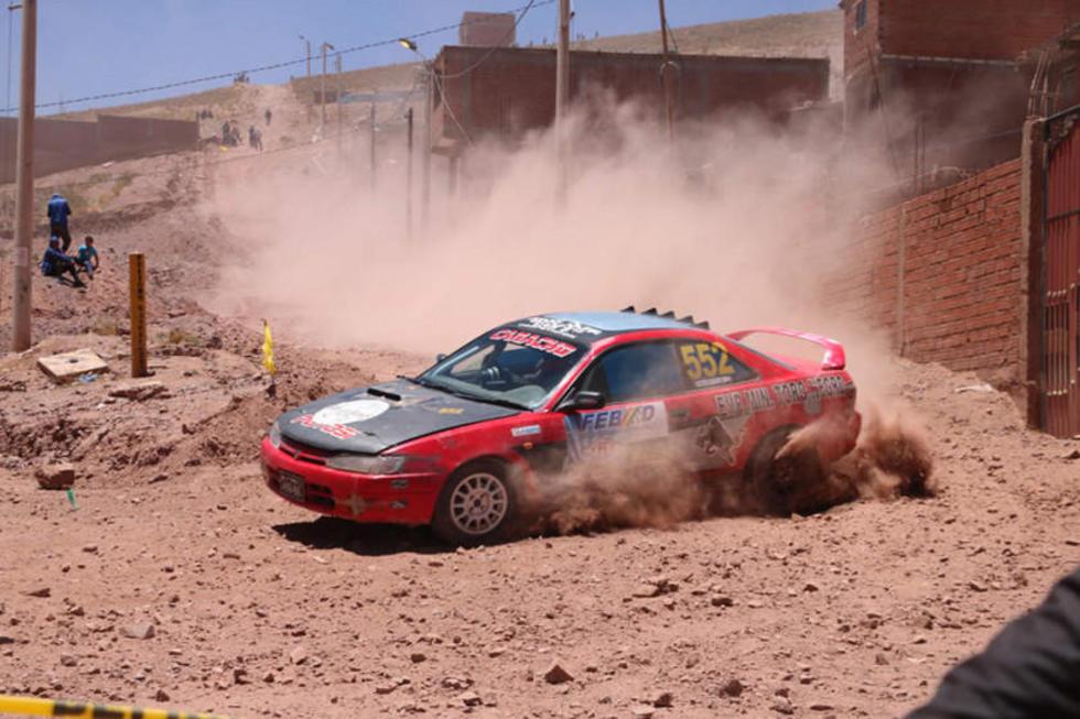 Dieciséis pilotos se dieron cita en la competencia.