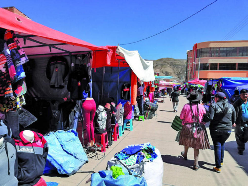 Los comerciantes del interior y de Potosí se asentaron en esta zona potosina.