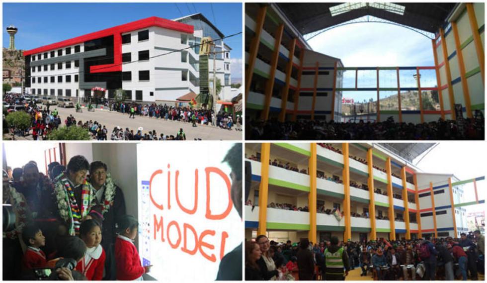 Cuenta con aulas virtuales además de tres pisos con ambientes para 22 cursos. Se encuentra en la avenida Tinku.Técnico