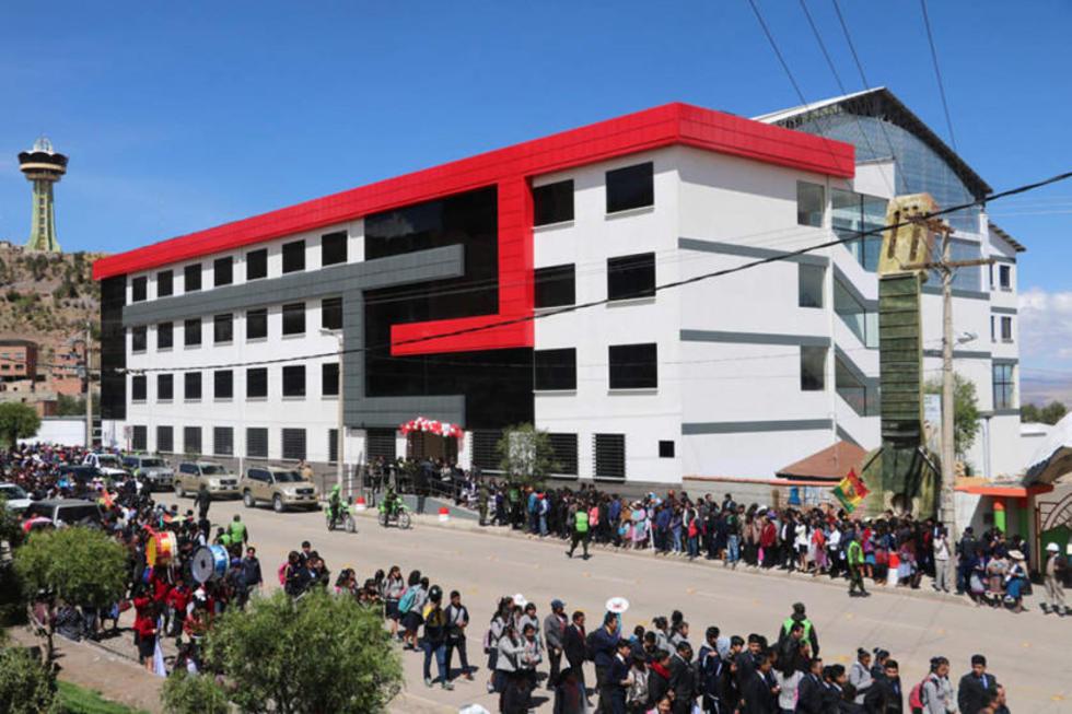 Entregan un edificio para cerca de 700 estudiantes