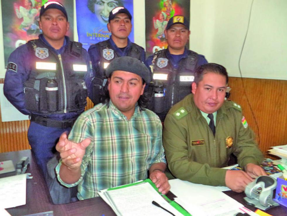 Sergio Leaño en una anterior conferencia de prensa.