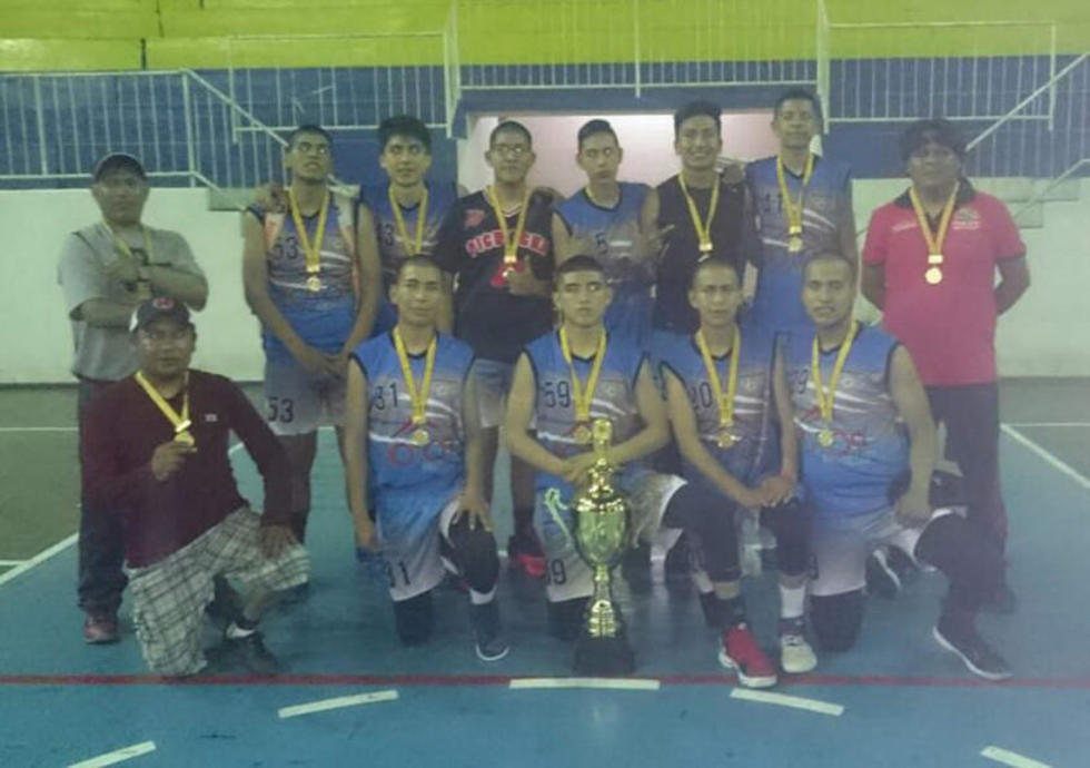 Potosí se corona campeón nacional  en el campeonato de básquet U-18