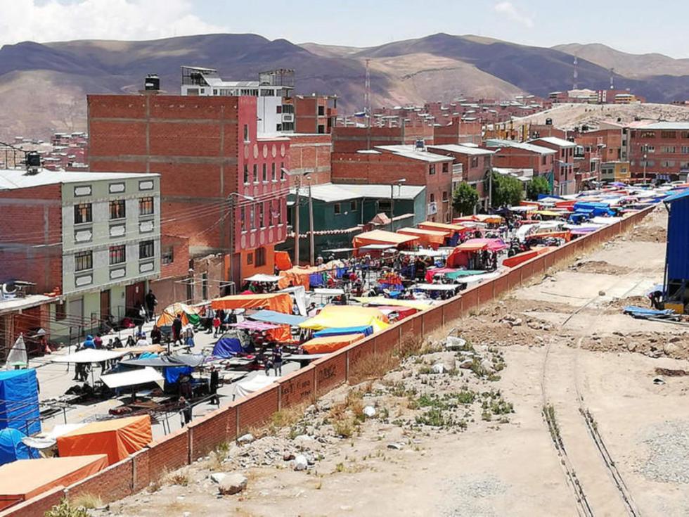 Este es el nuevo asentamiento de los comerciantes.