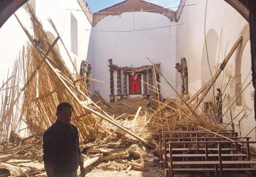Comienza el rescate del templo de San Agustín de Potosí