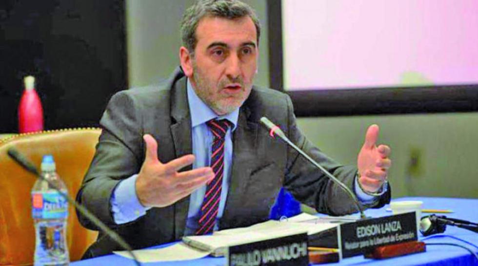 Edison Lanza, relator para la Libertad de Expresión de la Comisión Interamericana de Derechos Humanos.