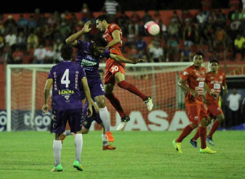 Las declaraciones del jugador Chávez fueron al finalizar el encuentro entre Real y Guabirá.