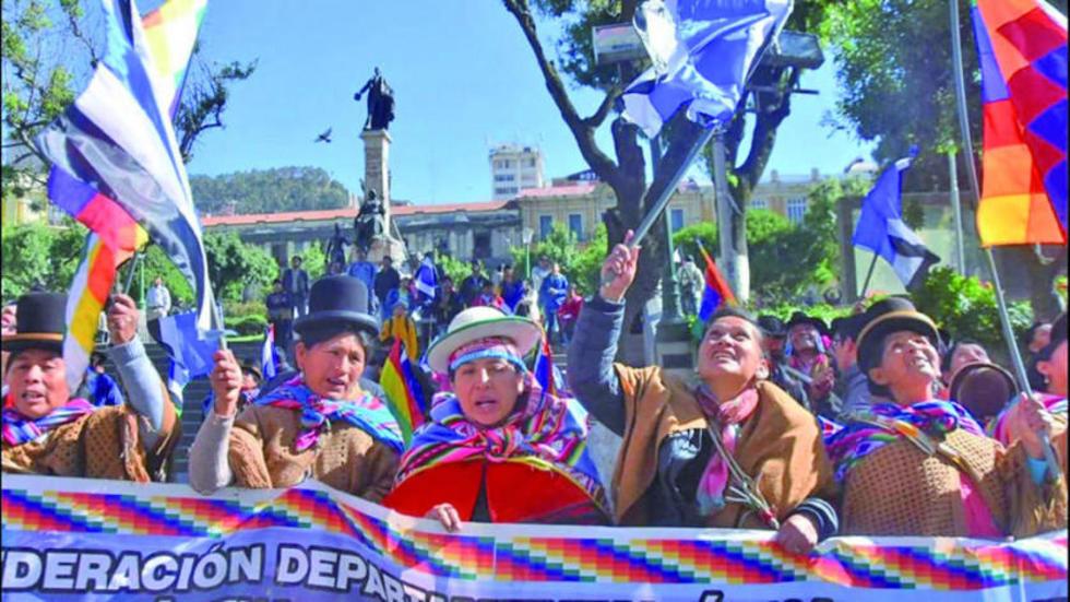 Los masistas además de festejar lanzaron su campaña para 2019.
