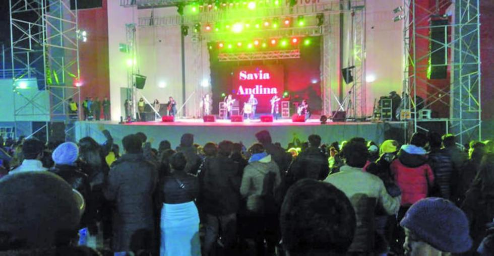 Savia Andina cierra el FIC 2018 de la Gobernación