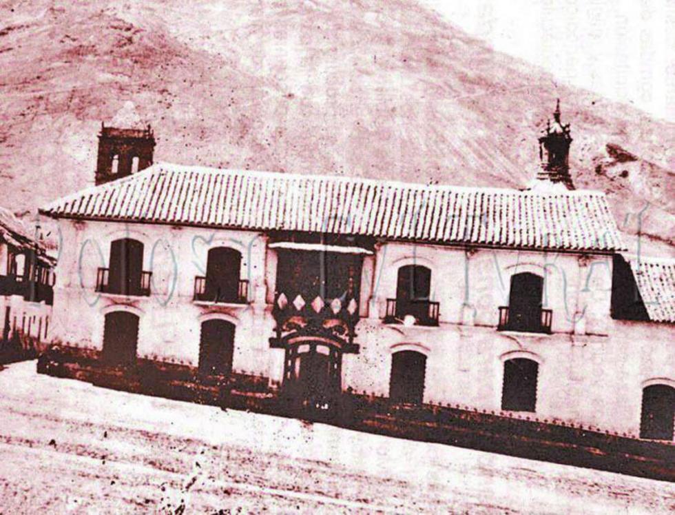 La fachada de la antigua ceca. Siglo XIX.