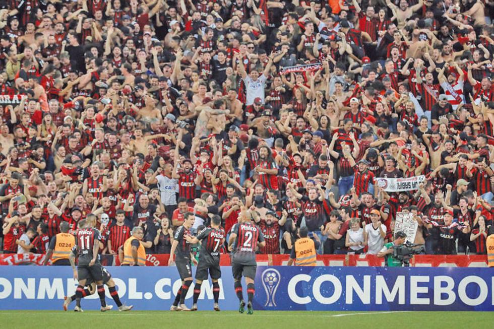 El Atlético Paranaense es campeón continental